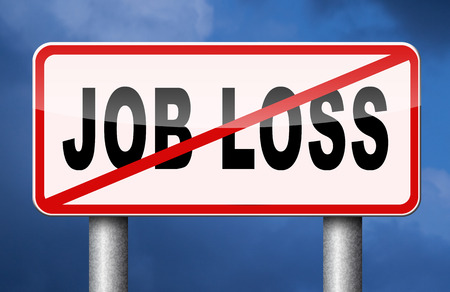 simplification: job loss and unemployment getting fired
