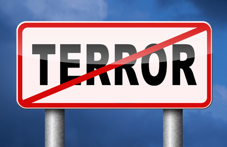 stop the terror stop violence terrorism and war