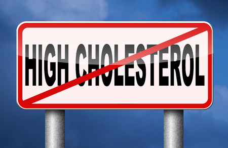 high cholesterol diet lower saturated animal fats to stop and avoid cardiovascular disease Banque d'images