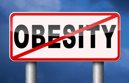 obesity prevention campaign with low fat diet for obese children and adults with eating disorder