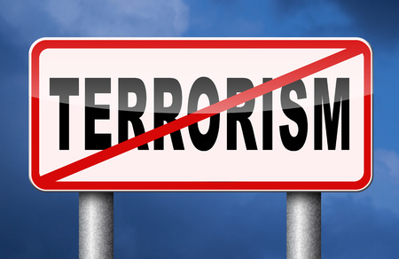 terror: no terrorism war on terror stop terrorist attacks