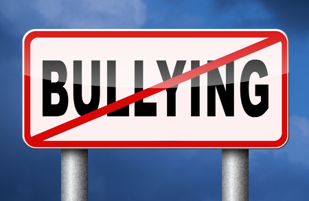 bullies: stop bullying no bullies prevention against school work or in the cyber internet harassment