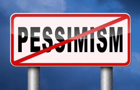 optimismo: sin pesimismo pensar optimismo positivo
