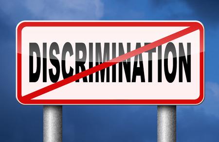 homophobia: stop discrimination equal rigths no homophobia or gender racism
