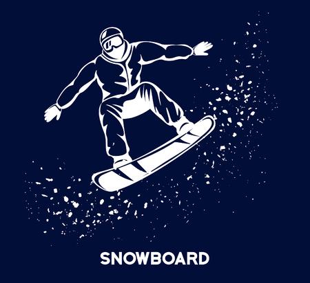 Winter Snowboarding Sport