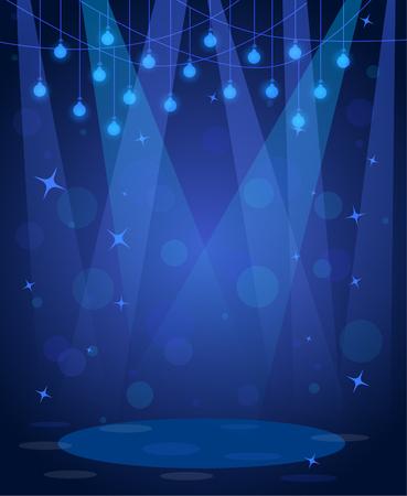 dancefloor: stage disco background