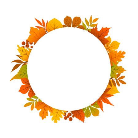autumn background: autumn, fall, thanksgiving round circle frame background