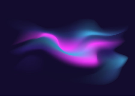Blurred Liquid Electric Wavy Abstract Soft Pastel Colors Flow ...