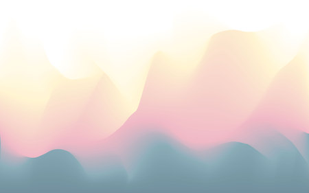 Blurred wavy abstract futuristic soft pastel colors flow blended background texture