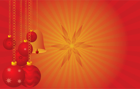 Red background for christmas Illustration
