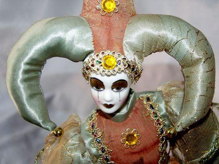 The harlequin photo