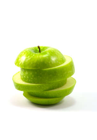 underlying: green apple Stock Photo
