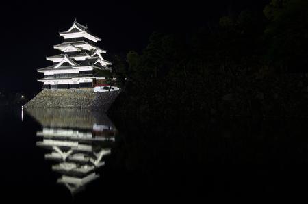 matsumoto: Matsumoto castle at night