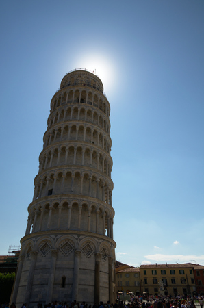 miracle square: Leaning tower of Pisa