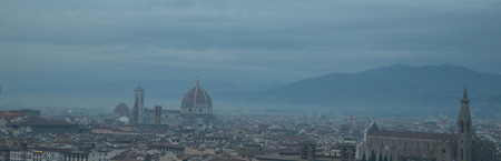 michelangelo: Florence panorama from Piazzale Michelangelo, Italy