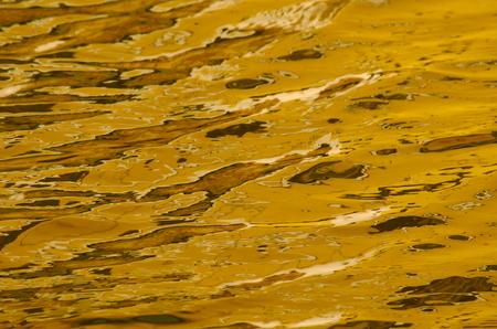 liquid reflect: water reflections like liquid gold