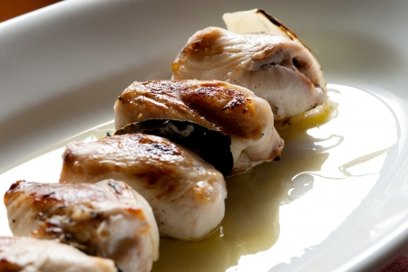 swordfish rolls  typical Sicilian dish photo