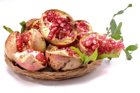 antioxidant: Pomegranate, autumnal fruit with antioxidant properties