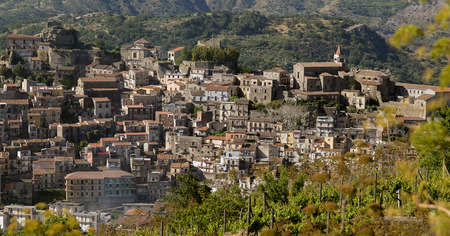 region sicilian: Castiglione di Sicilia a small village in the territory of wine of Etna