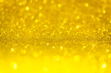 Abstract glitter gold lights background. de-focused. christmas