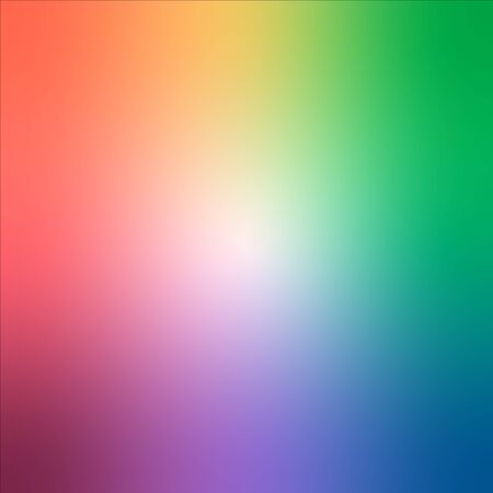 abstract blurry gradient mesh background in bright rainbow colors, colorful smooth template, editable and layered Çizim