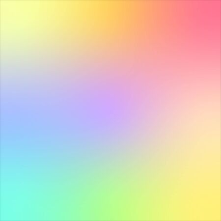 Abstract pastel colorful vector background. pink, purple, yellow, green blue square