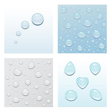 droplets Illustration