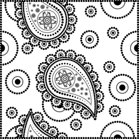 splendor: Paisley seamless pattern