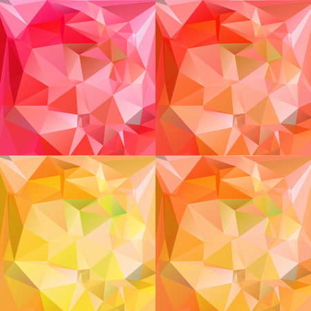 rumpled: Abstract geometric rumpled triangular low poly style vector illustration graphic background. Digital vector illustration.