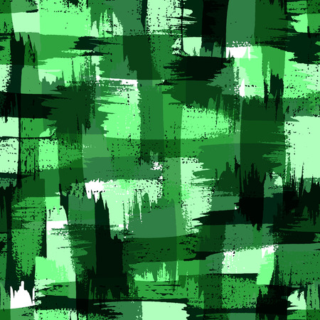 Raster militärische Tarnmuster. Grün Trendfarbe