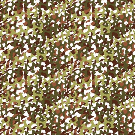 textile industry: Camouflage net, camoflage scrim seamless pattern or texture. Vector fabric design for textile industry. Realistic illustration