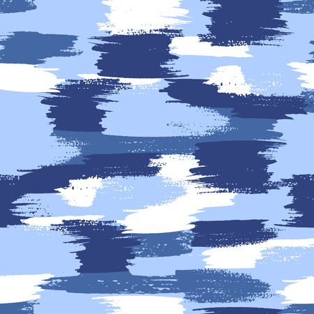 Vector military camouflage pattern. Water blue camouflage.