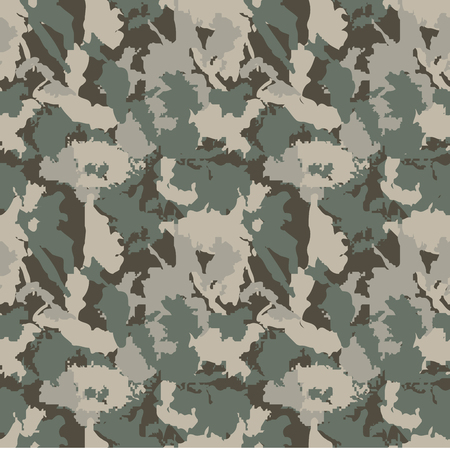 camoflage: Classic Seamless Military Camouflage Pattern Background for fabric textile design.