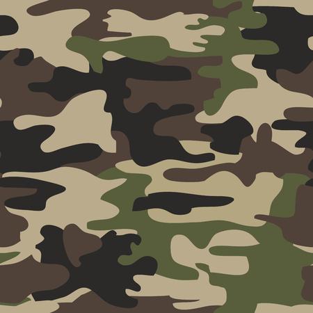 Camouflage Seamless Pattern Woodland Military Design Army Uniform Interesting Army Pattern