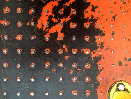 spinner: Background image, peeling paint, kids spinner at park