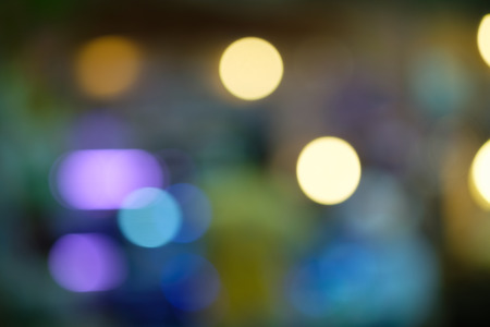 flashlights: Blurred abstract background,Bokeh lighting in concert, Out of Focus Stock Photo