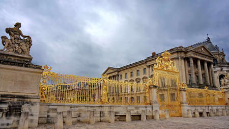 versailles: France Versailles construction location shoot away