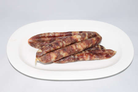 larger: Homemade sausage