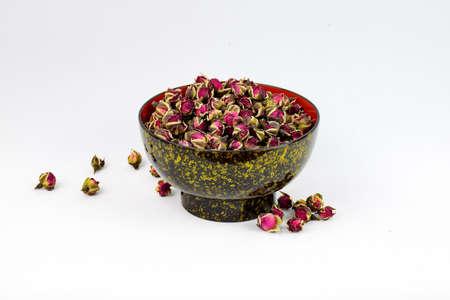 tea rose: Rose tea Stock Photo