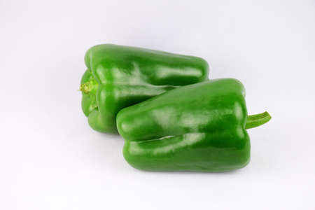 larger: Green pepper
