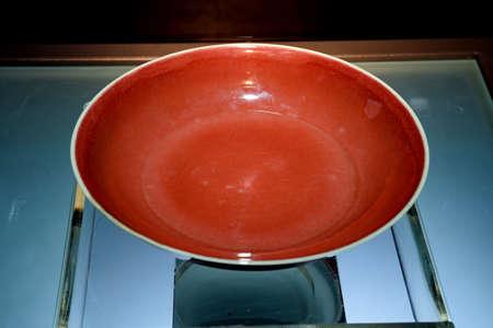 ruby red: Zheng He era ruby ??red reel hubs