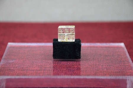 sanskrit: Zheng He era of Sanskrit crystal ornaments