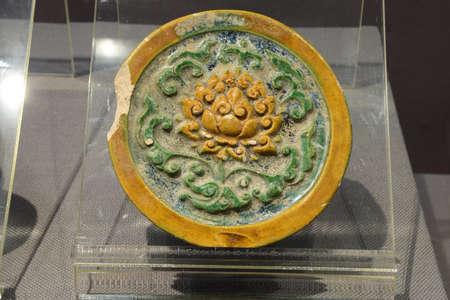 Zheng He era uranium green lotus pattern Vatan Editorial
