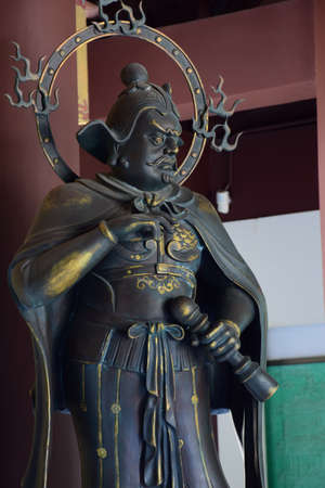 humanities: Huiyin Gaoli Temple Hangzhou statue