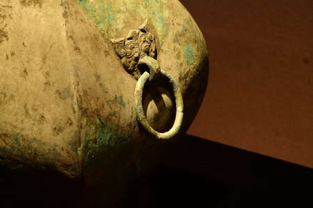 finds: Mawangdui unearthed copper pot Fang Close