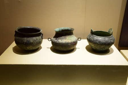 qin: Qin Qin Xian Wen bronze bronze kettle kettle