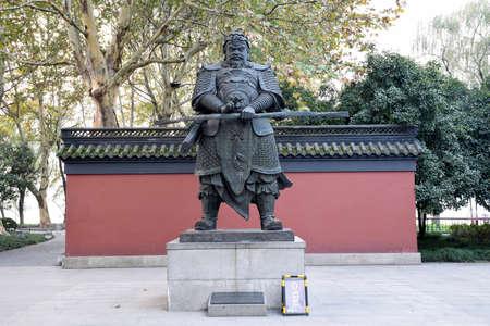 fine gold: Hangzhou fine gold statue