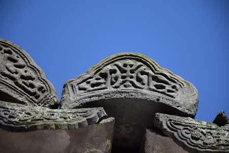 rood: Huizhou architecture roof brick Stock Photo