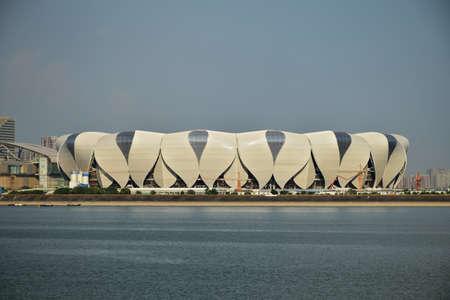 deportes olimpicos: Centro deportivo olímpico en Hangzhou