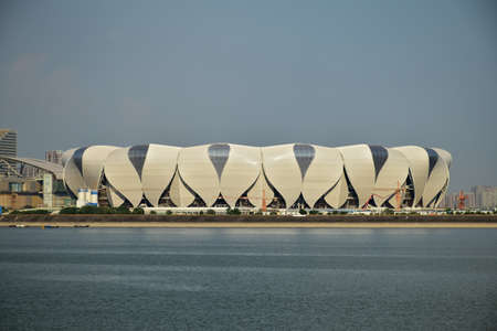 olympic sports: Olympic sports center in Hangzhou Editorial